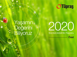 Tüpraş, 2020 Sürdürülebilirlik Raporu Özet